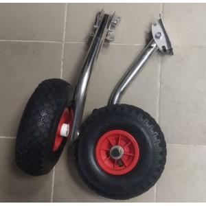 Транцевые колёса стандартные (перекидные)