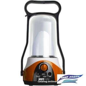 Фонарь JAZZway Accu5-L12W-USB-og (оранжевый)
