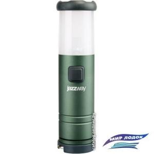 Фонарь JAZZway L1-L1W-4AAA (зеленый)