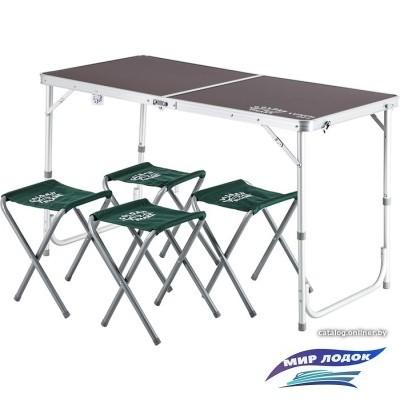 Стол со стульями GOLDEN SHARK Lunch Set 4 GS-LUN-SET4