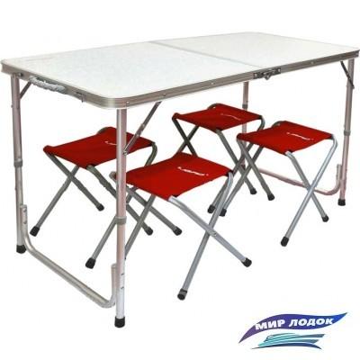 Стол со стульями Libao 4+1