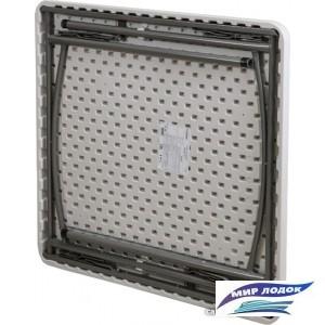 Стол Седия складной пластиковый квадратный 86 (белый)