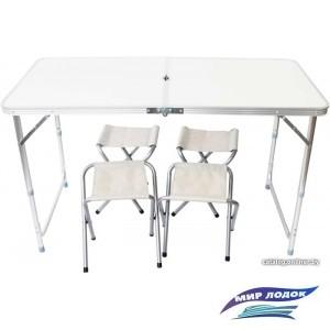 Стол со стульями Ausini VT-05 (белый)