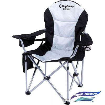 Кресло KingCamp Chair Arms Steel Delux KC3888