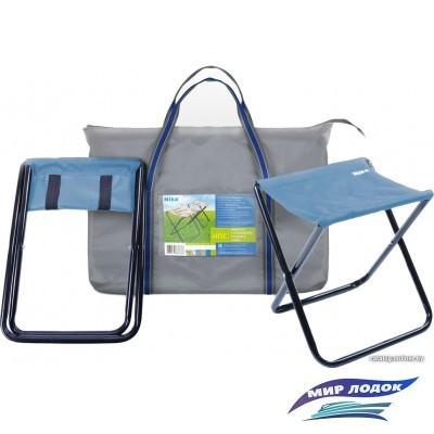 Табурет Nika набор с сумкой НПС (синий)