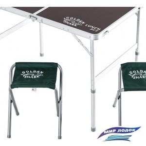 Стол со стульями GOLDEN SHARK Lunch Set 2 GS-LUN-SET2