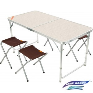 Стол со стульями Outventure 0IE418T1