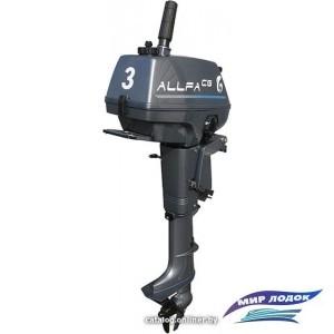 Лодочный мотор Allfa T3