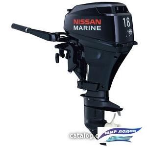 Лодочный мотор Nissan Marine NS 18 E2 1