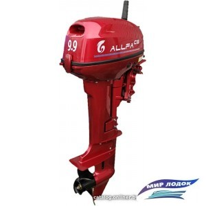 Лодочный мотор Allfa T9.9 (красный)