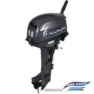 Лодочный мотор Allfa T9.8 (черный)