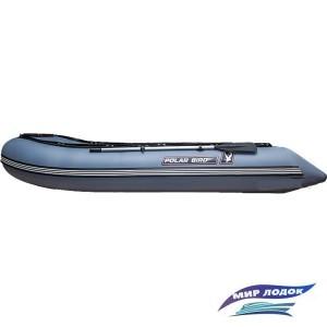 Моторно-гребная лодка Снегирь Polar Bird Merlin 340M (серый)