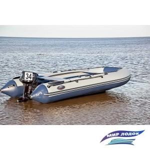 Моторно-гребная лодка Групер 380