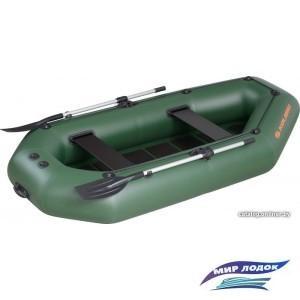 Моторно-гребная лодка Kolibri K-280СТ (слань-коврик)