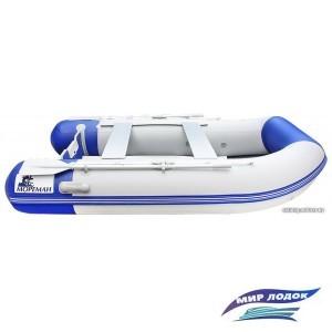 Моторно-гребная лодка Мореман 280 (надувной пайол)