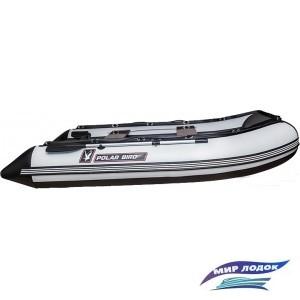 Моторно-гребная лодка Снегирь Polar Bird Merlin 340M (черный/белый)