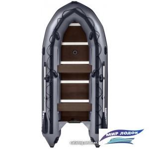 Моторно-гребная лодка Apache 3700 СК (графит)
