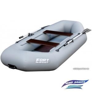 Гребная лодка FORT boat 260 Лайт (серый)