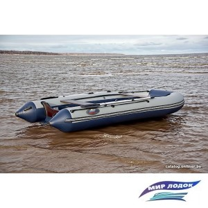 Моторно-гребная лодка Групер 400