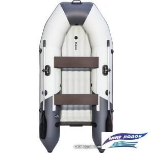 Моторно-гребная лодка Таймень NX 2800 НДНД (светло-серый/графит)