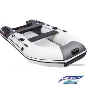 Моторно-гребная лодка Таймень NX 2900 НДНД (графит/светло-серый)