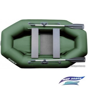 Гребная лодка FORT boat 260 Лайт (зеленый)