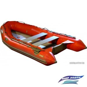 Моторно-гребная лодка Мнев и К Фаворит F-420