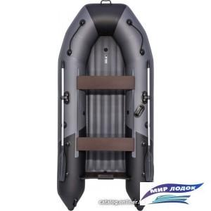 Моторно-гребная лодка Таймень NX 3200 НДНД (графит/черный)