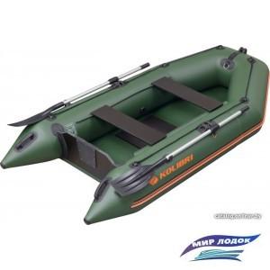 Моторно-гребная лодка Kolibri KМ-280 (слань-книжка)