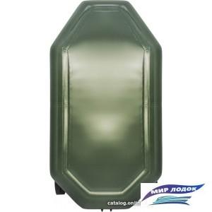 Моторно-гребная лодка Аква-Мастер 240 (зеленый)