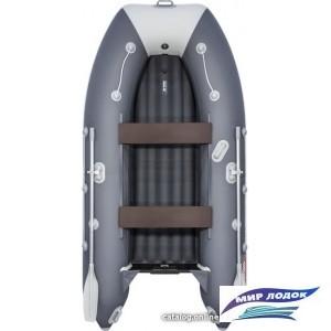 Моторно-гребная лодка Таймень LX 3200 НДНД (графит/светло-серый)