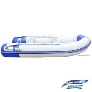 Моторно-гребная лодка Мореман 340 (надувной пайол)