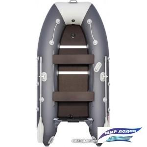 Моторно-гребная лодка Таймень 3200 СК (графит/светло-серый)