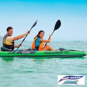 Байдарка Intex 68306 Challenger K2 Kayak