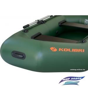 Моторно-гребная лодка Kolibri K-250Т (слань-коврик)