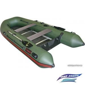 Моторно-гребная лодка Мнев и К Комбат CMB-360 (зеленый)