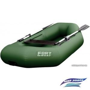 Гребная лодка FORT boat 240 (зеленый)