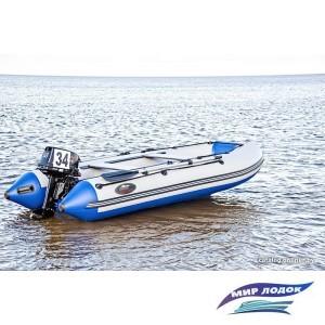 Моторно-гребная лодка Групер 320