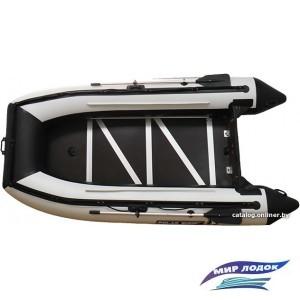 Моторно-гребная лодка Снегирь Polar Bird Merlin 360M (черный/белый)