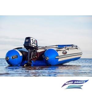 Моторно-гребная лодка Групер 330