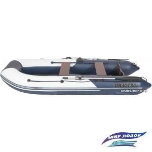 Моторно-гребная лодка Пилот М-360