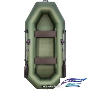 Моторно-гребная лодка Аква-Мастер 280 (зеленый)