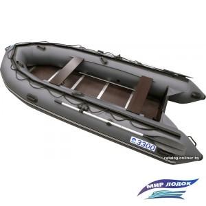 Моторно-гребная лодка Apache 3300 СК (графит)