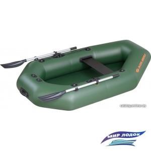 Моторно-гребная лодка Kolibri K-220Т (слань-коврик)