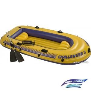Гребная лодка Intex Challenger 3 Set (Intex-68370)