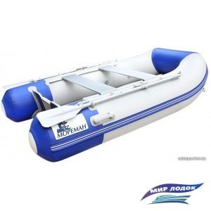Моторно-гребная лодка Мореман 260 (фанерный пайол)