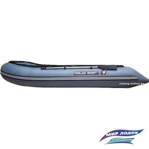 Моторно-гребная лодка Снегирь Polar Bird Merlin 385M (серый)