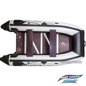 Моторно-гребная лодка Polar Bird PB-320M стеклокомпозит (серый)