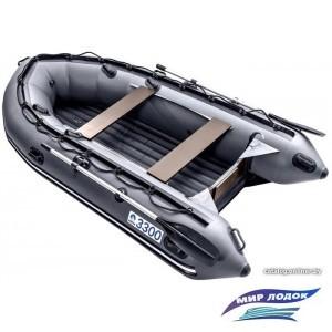 Моторно-гребная лодка Apache 3300 НДНД (графит)