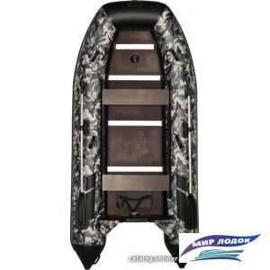 Моторно-гребная лодка Адмирал 350 (камуфляж)